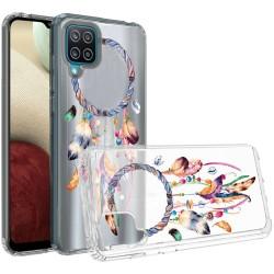 Design Transparent Bumper Hybrid Case for Samsung Galaxy A12 - Dreams Come True