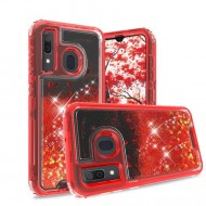 Premium Strong Glitter Quick Sand Case For Samsung A20