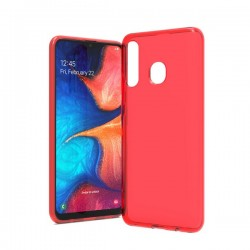 TPU case, Red For Samsung A20