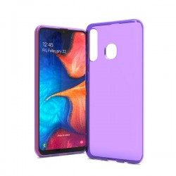 TPU case, Purple For Samsung A20