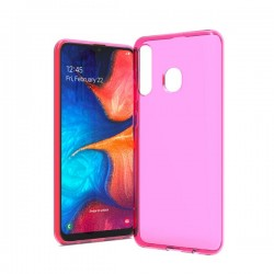TPU case, Hot Pink For Samsung A20