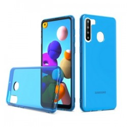 TPU CASE FOR SAMSUNG A21 BLUE