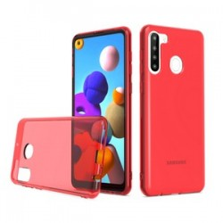 TPU CASE FOR SAMSUNG A21 RED