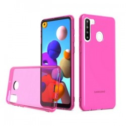 TPU CASE FOR SAMSUNG A21 PINK
