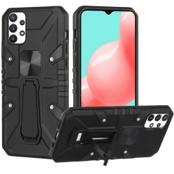 Force Magnetic Tough Kickstand Hybrid Case for Samsung Galaxy A32 5G - Black