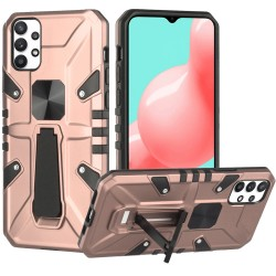 Force Magnetic Tough Kickstand Hybrid Case for Samsung Galaxy A32 5G - Rose Gold