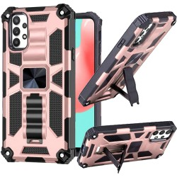 Machine Magnetic Kickstand Case for Samsung Galaxy A32 5G - Rose Gold