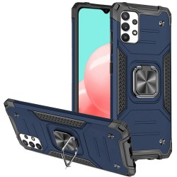 Robust Magnetic Kickstand Hybrid Case for Samsung Galaxy A32 5G - Blue