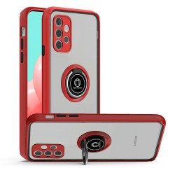 Magnetic Ring Stand Case for Samsung Galaxy A32 5G - Red