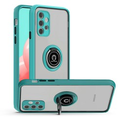 Magnetic Ring Stand Case for Samsung Galaxy A32 5G - Teal