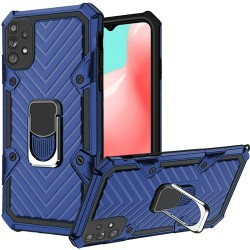 Victory Magnetic RingStand Case for Samsung Galaxy A32 5G - Blue