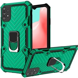 Victory Magnetic RingStand Case for Samsung Galaxy A32 5G - Dark Green