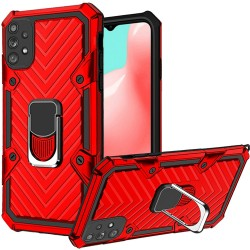 Victory Magnetic RingStand Case for Samsung Galaxy A32 5G - Red
