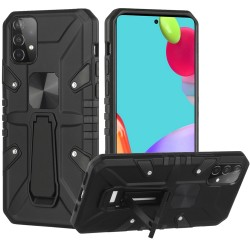 Force Magnetic Tough Kickstand Hybrid Case for Samsung Galaxy A52 5G - Black