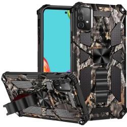Machine Design Magnetic Kickstand Case for Samsung Galaxy A52 5G - Camo Army