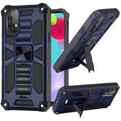 Machine Magnetic Kickstand Case for Samsung Galaxy A52 5G - Blue