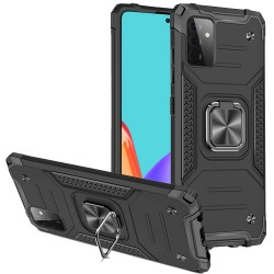 Robust Magnetic Kickstand Hybrid Case for Samsung Galaxy A52 5G - Black