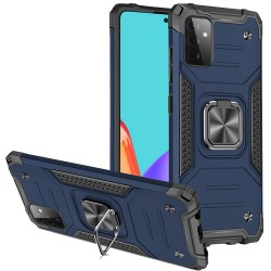 Robust Magnetic Kickstand Hybrid Case for Samsung Galaxy A52 5G - Blue