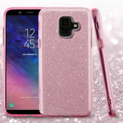 ASMYNA Pink Full Glitter Hybrid Protector Cover (with Package)