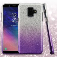 ASMYNAPurple Gradient Glitter Hybrid Protector Cover (with Package)