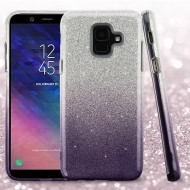 ASMYNABlack Gradient Glitter Hybrid Protector Cover (with Package)