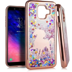 Chrome Glitter Motion Case for SAMSUNG A6 2018 #05RG