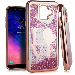 Chrome Glitter Motion Case for SAMSUNG A6 2018 #20RG