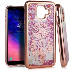 Chrome Glitter Motion Case for SAMSUNG A6 2018 #35RG