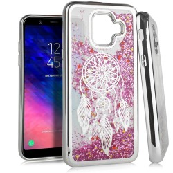 Chrome Glitter Motion Case for SAMSUNG A6 2018 #35S