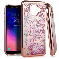 Chrome Glitter Motion Case for SAMSUNG A6 2018 #38RG