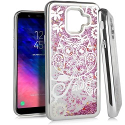 Chrome Glitter Motion Case for SAMSUNG A6 2018 #38S