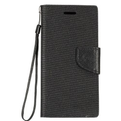 Demin Fabric Wallet for SAMSUNG A6 2018
