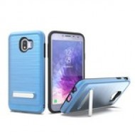BRUSHED METALLIC W/ EDGE AND KICK FOR SAMSUNG Galaxy A6 2018_BLUE