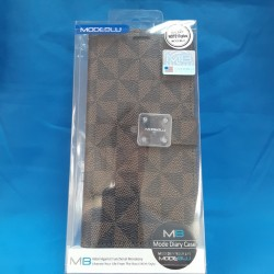 LV WALLET FOR GALAXY NOTE 10 (BROWN)