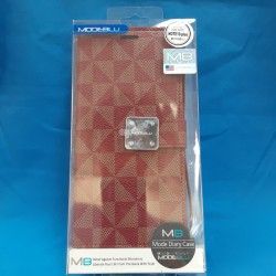 LV WALLET FOR GALAXY NOTE 10 (RED)
