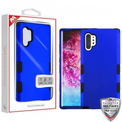 Titanium Dark Blue/Black TUFF Hybrid Protector Cover [Military-Grade Certified](with Package) For Samsung Note 10 Plus