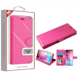Hot Pink MyJacket Wallet Element Series(563) -WP For Samsung Note 10 Plus