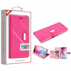 Hot Pink/Pink MyJacket Wallet Xtra Series (GE033) -WP For Samsung Note 10 Plus