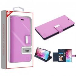 Purple/Dark Blue MyJacket Wallet Xtra Series (GE034) -WP For Samsung Note 10 Plus