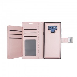 Luxurious Magnetic Wallet with Retail Packages for SAMSUNG GALAXY NOTE 9