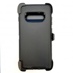 O++ER Case with Holster for Samsung Galaxy S10 PLUS_BKBK