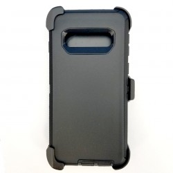 O++ER Case with Holster for Samsung Galaxy S10_BKBK