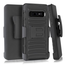Armor Holster for Samsung Galaxy S10 PLUS_BLACK