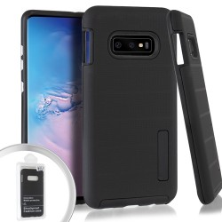 Dot Texture Case for Samsung Galaxy S10 PLUS_Black