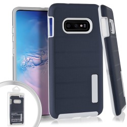 Dot Texture Case for Samsung Galaxy S10_Blue