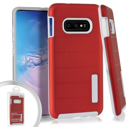 Dot Texture Case for Samsung Galaxy S10_Red