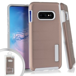 Dot Texture Case for Samsung Galaxy S10_Rose Gold