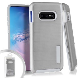 Dot Texture Case for Samsung Galaxy S10 PLUS_Silver