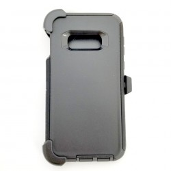 O++ER Case with Holster for Samsung Galaxy S10e_BKBK