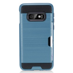 Brushed Metal Hybrid with Card Slot for Samsung Galaxy S10